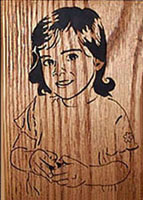 scroll saw portrait